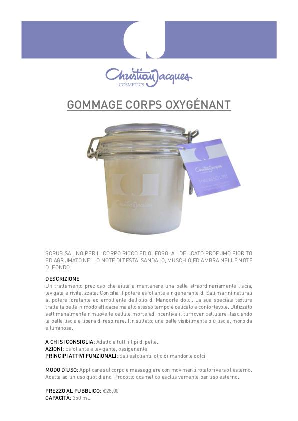 Esfoliazione gommage