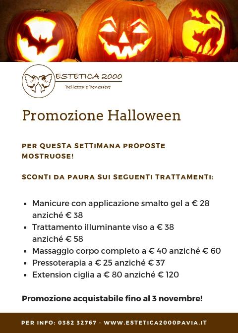 Trattamenti estetici per halloween